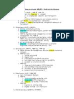 Matrix Metalloproteinase_summary
