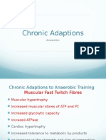 chronic adaptations to training (anaerobic)