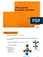 LNG Property and Fuel Calculation