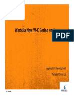 Wartsila New X Series Engines