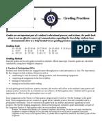 grading practices creative writing semester 1