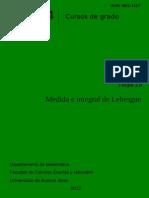 Medida e Integral de Lebesgue - Norberto Fava