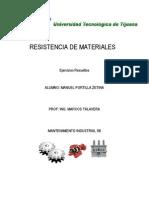 Ejercicios Resistencia de Materiales
