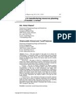 European J. Industrial Engineering, Vol. 4, No.