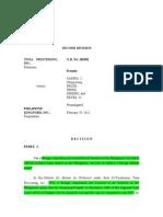 ADR Jurisprudence