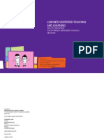 Learner Centered Teaching and Learning
