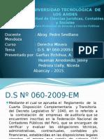 Diapositivas Derecho Minero MAAV