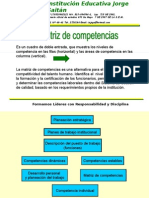 Presentació matriz de competencias.pps