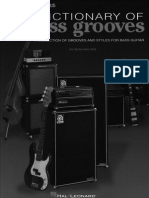 Dictionary of Bass Grooves