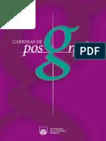 Carreras de Posgrado 2014