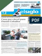 Edición Impresa El Siglo 12-08-2015