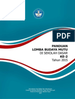 Panduan Lomba Budaya Mutu Di Sd-2015