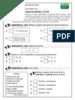 Avaliação Aplicador - II Bimestre - Português