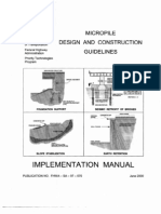 Micropile - Design and Construction Guidelines Manual