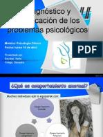 Diagnostico y Clasificacion