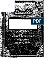 Pirandello Seis Personagens