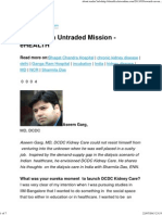 Towards an Untraded Mission - EHEALTH