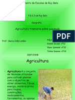 ppt sobre agricultura itinerante  8f nº19 nº12 nº24 nº1