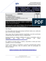 Auditor Fiscal Do Trabalho 2014 Auditoria Aula 01