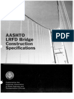 LRFD Bridge Construction Specifications