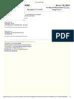 Part Number Notes [4379760] Kit-Damper