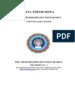 Tata Tertib Siswa 2014 2015