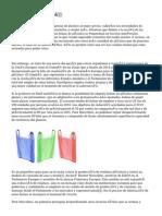 Bolsas De Plastico ✅