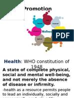 Health Promotion UNP