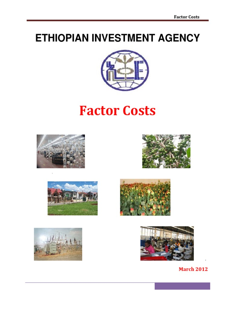 Factor Costs 2012 | Value Added Tax | Taxes