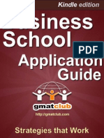 Business School Application Guide