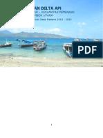 masterplan Delta API Desa Gili Air Edit