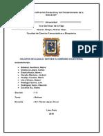 6°PRACTICA- HALUROS DE ALQUILO. SINTESIS 5.6 DIBROMO COLESTEROL