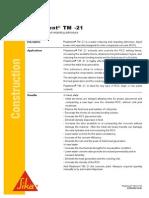 Sika PDS_E_Plastiment TM -21