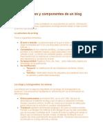 Las Partes y Componentes de Un Blog