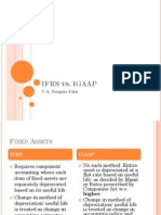 Ifrs vs Igaap