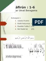 Qs. Al-Kafirun
