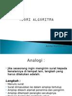 Pengenalan algoritma pemrograman