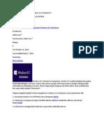 Aktivasi Permanen Windows 8.1 Enterprise