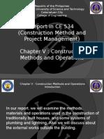 Presentation in CPM