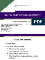 Start a Company (2008)