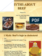 12 Myths About Beef