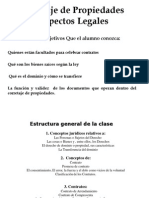 Aspectos Legales - Miguel Fernandez
