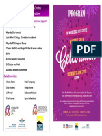 Mayoral Gala Program