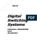 Digital Switching Systems(System Reliability and Analysis)