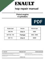 Renault D4x Workshop repair manual