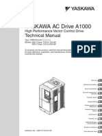 A1000 Technical Manual CIMR-AxxA