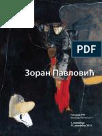 Katalog Zoran Pavlovic