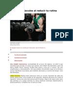 Aumenta Músculos Al Reducir Tu Rutina
