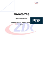 ZN-1000-ZBS C1 V0.3 Product Specification 20130823