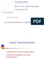 Lecture6,Linear Transformation
